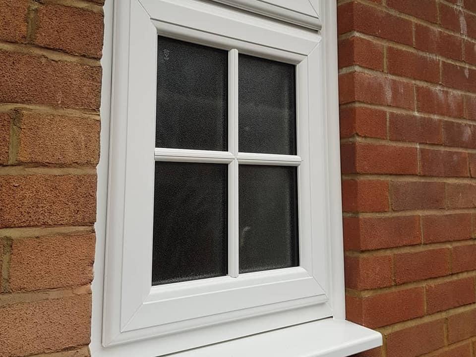 single upvc window